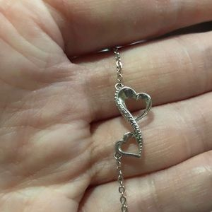 Jewelry - 🍁Sterling Silver Infinity Heart Necklace